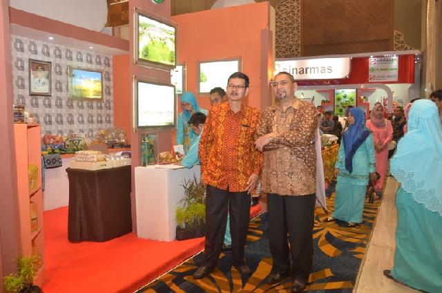 Wakili Bupati Bengkalis Hadiri Riau Expo, Kepala Bappeda: Manfaatkan untuk Mengembangkan dan Promosikan Produk Unggulan