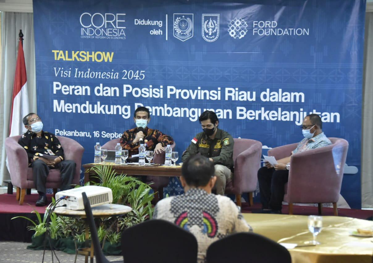Kepala Bappeda Jadi Narasumber Talkshow Ekonomi Regional