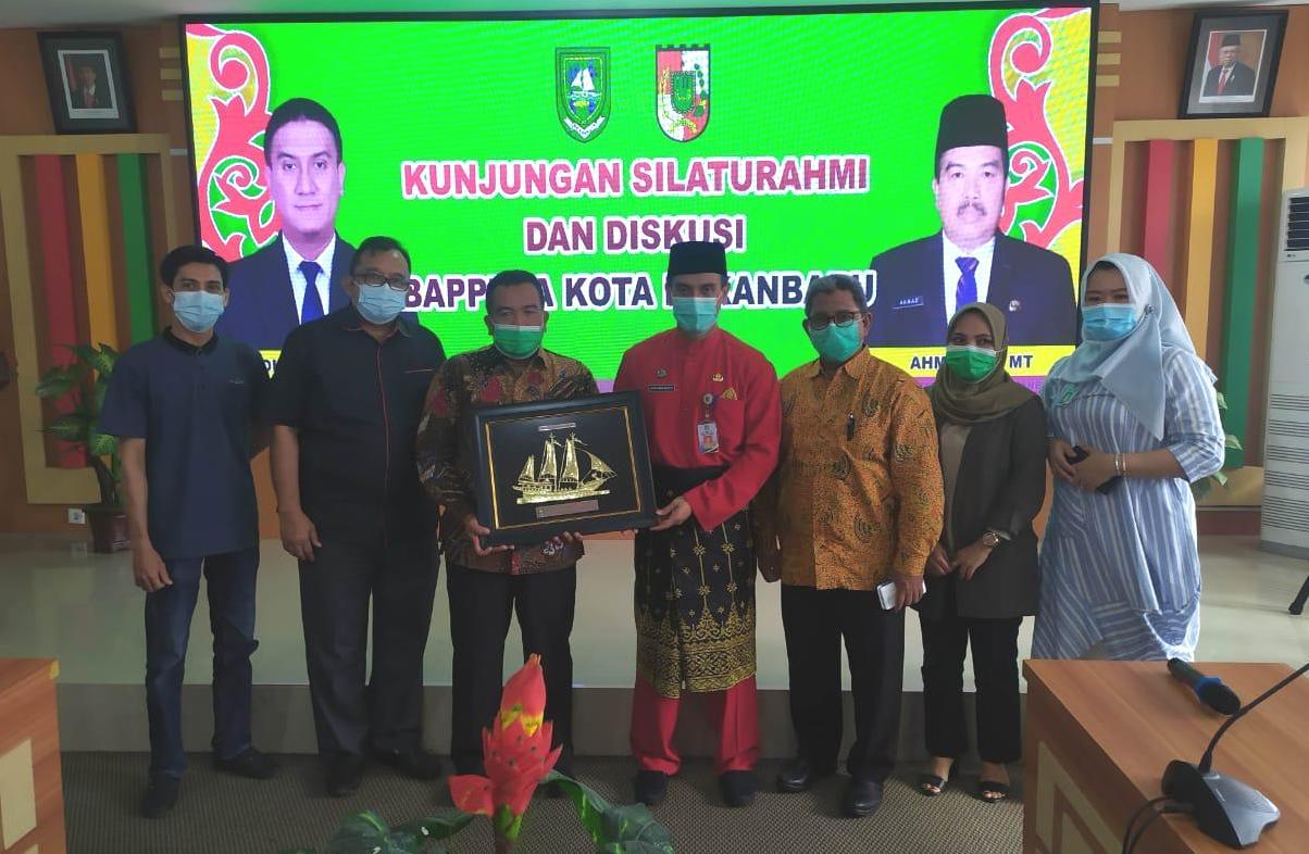 Bappeda Kota Pekanbaru Silaturrahmi dan Diskusi ke Bappeda Bengkalis