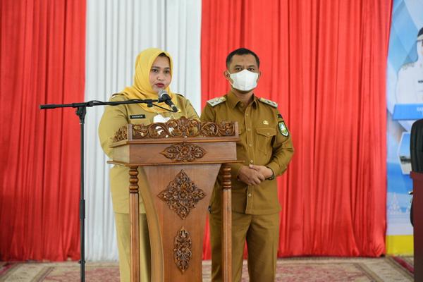 Buka Musrenbang Kabupaten Bengkalis, Bupati Ingatkan Tantangan Pembangunan akibat Covid-19
