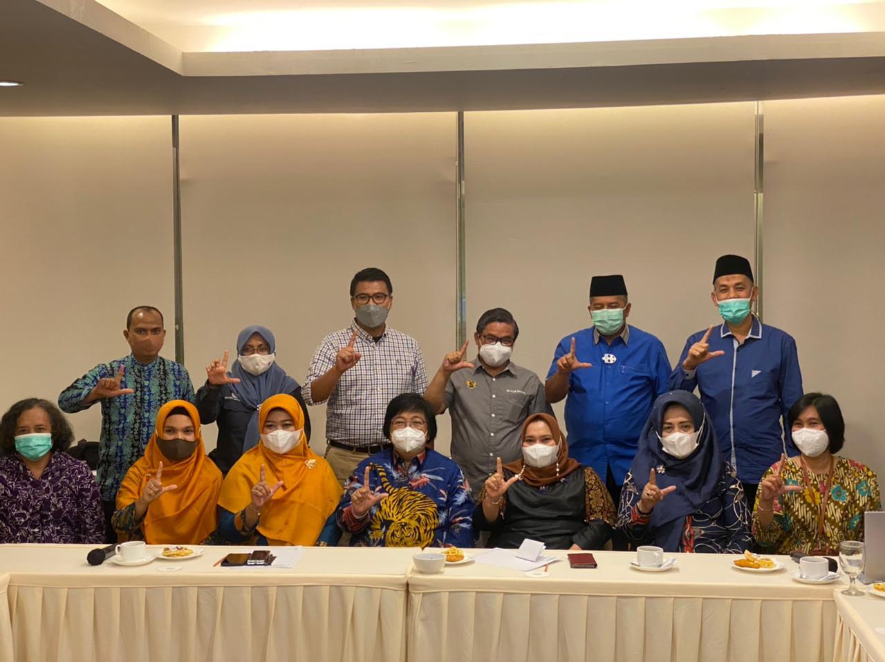 Bupati Bengkalis Sampaikan Usulan APBN ke Siti Nurbaya