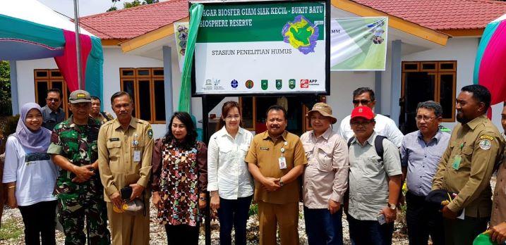 8 Perguruan Tinggi dari 4 Provinsi Hadiri Peresmian Stasiun Penelitian Cagar Biosfer GSK-BB