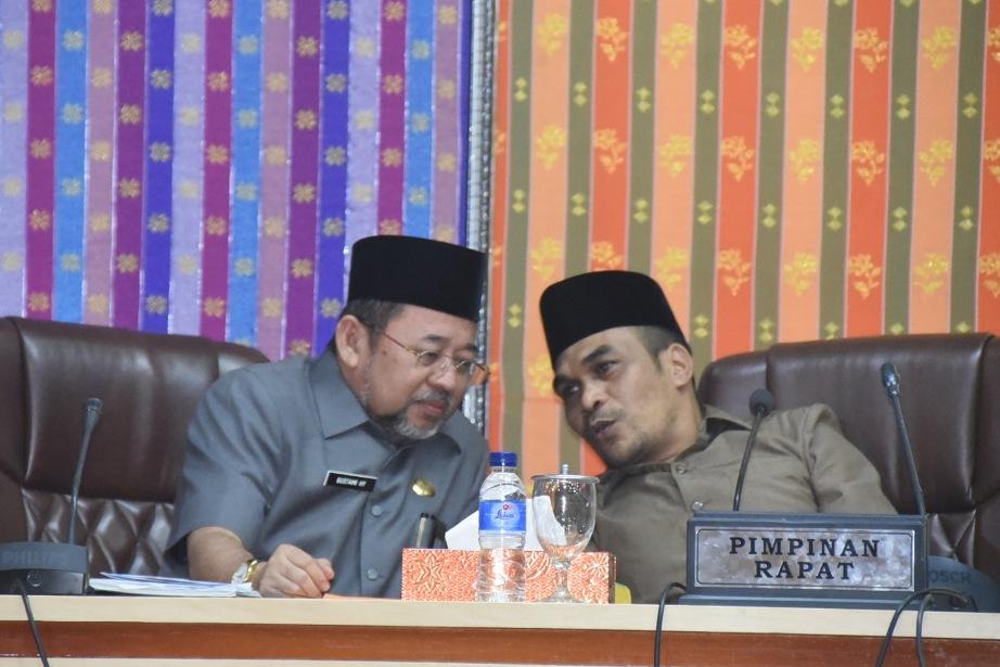 6 Fraksi di DPRD Bengkalis Sampaikan Pandangan Umum Terhadap Nota Keuangan