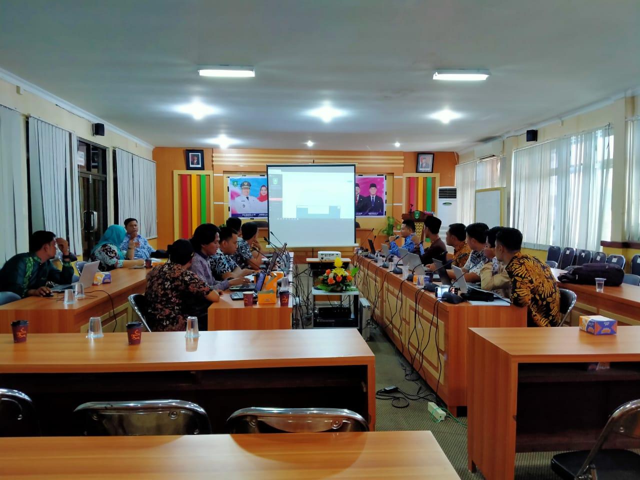 Gerbang Pesisir Tutup Workshop e-Planning Bappeda